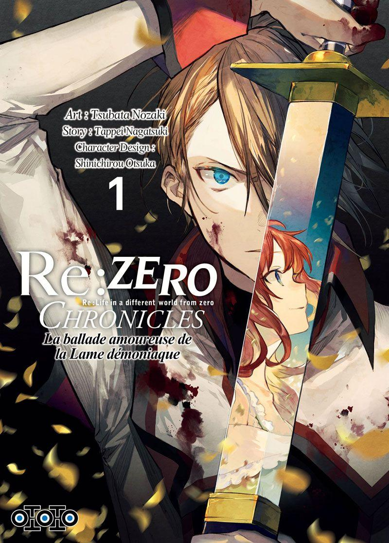 El manga Re: Zero Chronicles: The Love Ballad of the Demonic Blade llega a Ototo