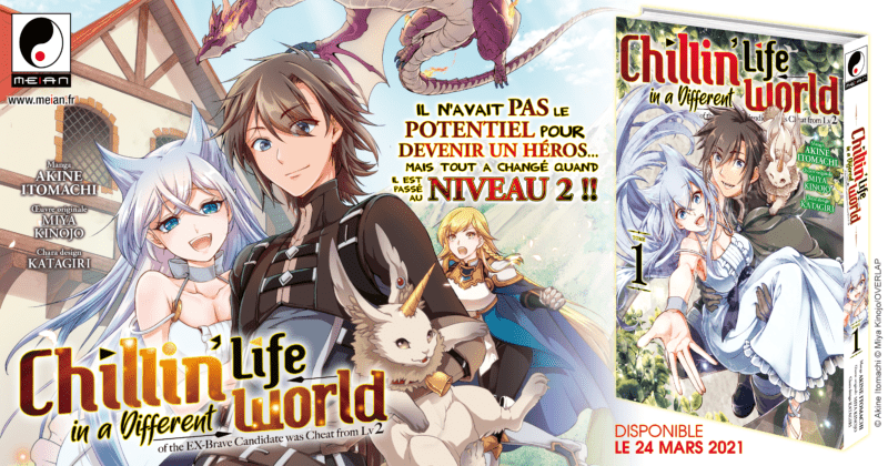 El manga Chillin 'Life in a Different World en marzo en Meian